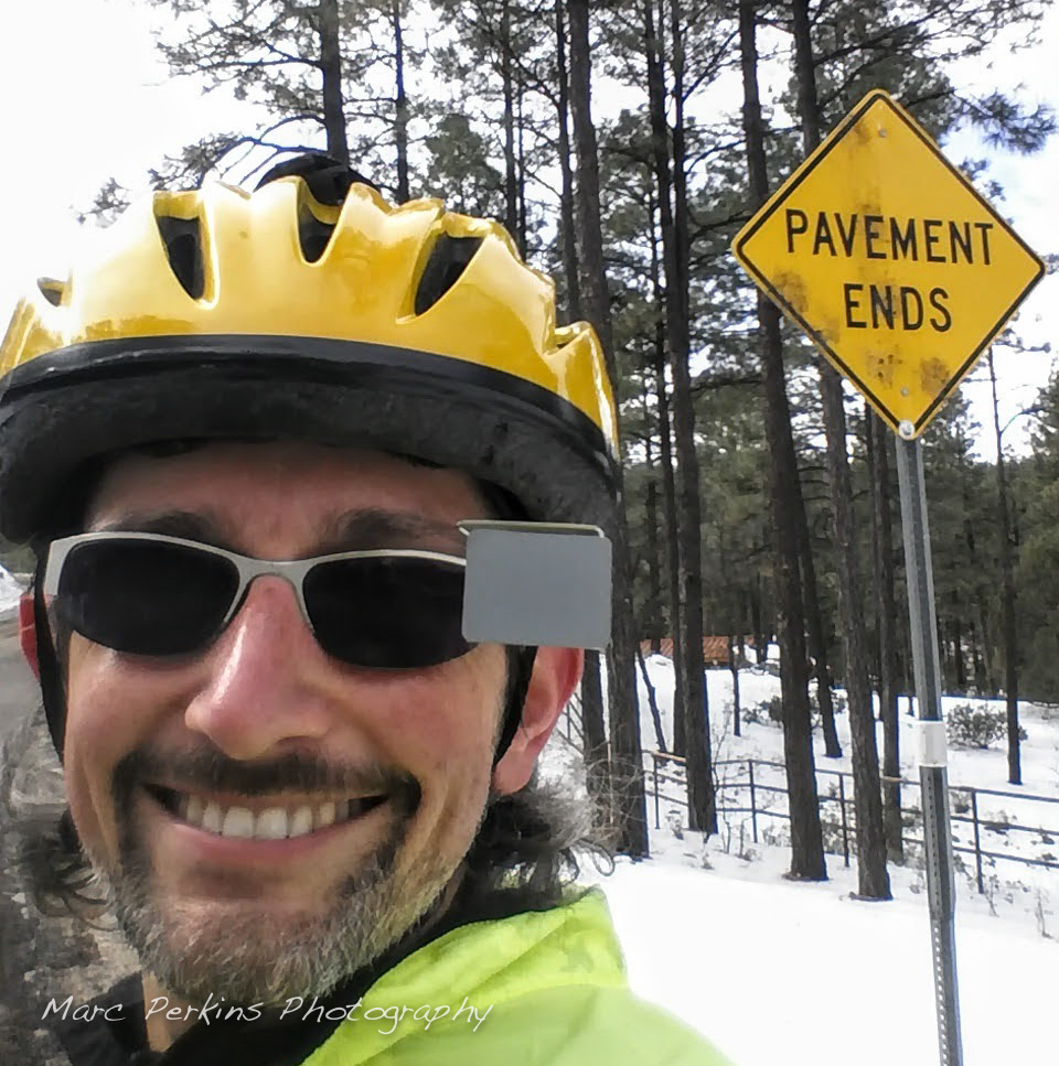 Me at the end of Copper Basin Road in Prescott, AZ.