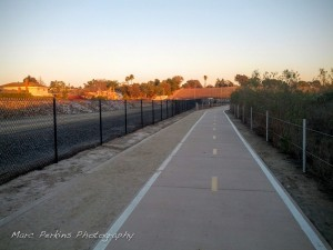 This paved trail connects Placentia to the Santa Ana River Trail; it's quite nice.
