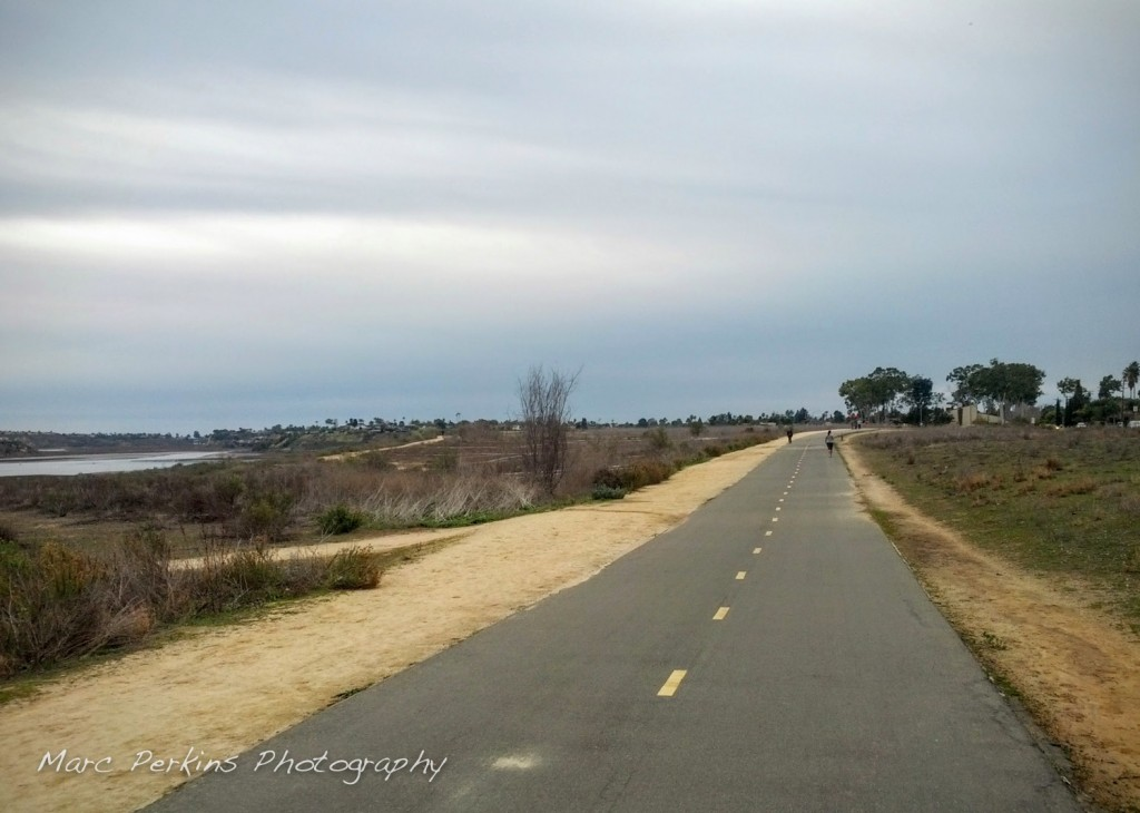 The western half of the Back Bay loop features Bayview Trail, a gorgeous bike and pedestrian pathway.