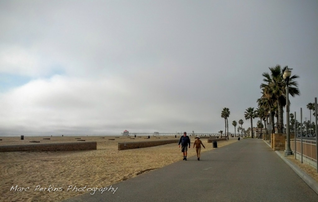 The Huntington Beach Trail midweek in the winter is a lovely place to bike.