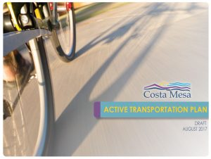 Cover of the 2017 transportation plan.